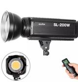 神牛 Godox SL-200W 白光版 LED棚燈 5600K 附16頻道遙控器RC-A5  太陽燈 採訪燈 持續燈【公司貨】
