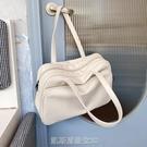 大容量托特包女短途出差旅行單肩大包包2021秋冬新款韓國行李包袋 【快速出貨】