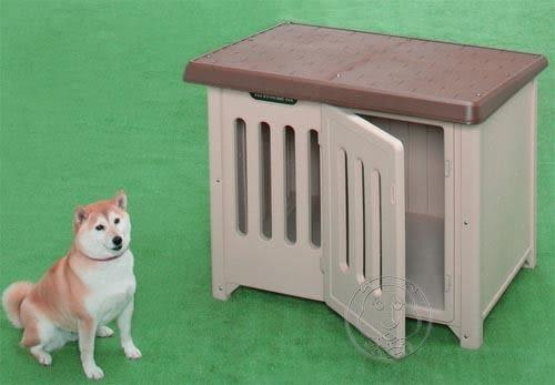 【培菓平價寵物網】IRIS《附有門》中大型造型狗屋950