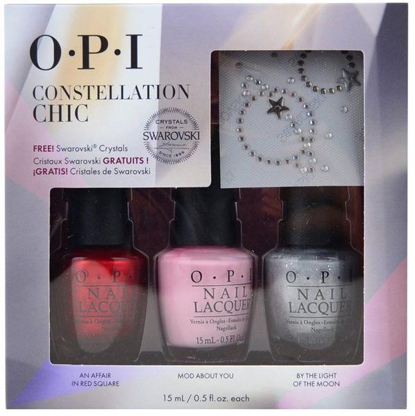 OPI Constellation Chic星光璀璨假期系列-俏麗占星術 15Ml*3入組 2015年07製 美國購入【彤彤小舖】