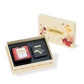 唐寧茶【Twinings】金綻花妍鉑金禮盒─胭脂莓果茶
