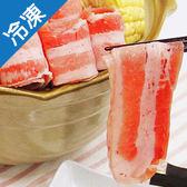 國產豬五花燒烤片500G/盒【愛買冷凍】