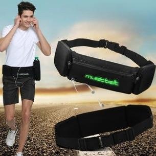 專業馬拉鬆跑步手機腰包男士戶外多功能運動健身裝備防水壺腰帶女 設計師生活