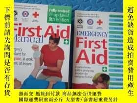 二手書博民逛書店First罕見Aid Manual 【附別冊】Y210872 J