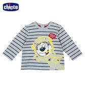 chicco-TO BE Baby-條紋太空虎長袖上衣