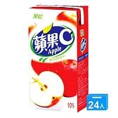 黑松蘋果C300ml*24【愛買】