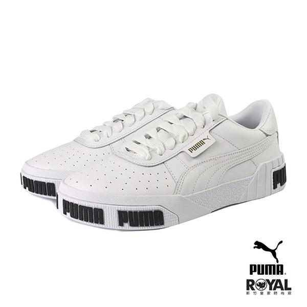 Puma Cali Bold 白色 皮質 復古 休閒運動鞋 女款 NO.I9790【新竹皇家 37081101】