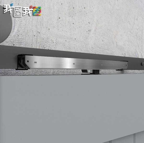 榖倉門緩衝阻尼器 新款免打孔安裝不鏽鋼材質 美式工業風LOFT鄉村復古風格