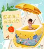 泳池 充氣水池 家庭兒童游泳池水上玩具充氣游泳池 YXS 【快速出貨】