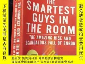二手書博民逛書店The罕見Smartest Guys in the Room(英