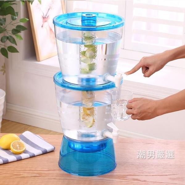 耐熱13L冷水壺大容量塑料耐高溫家用茶壺水壺飲料果汁壺扎壺帶蓋