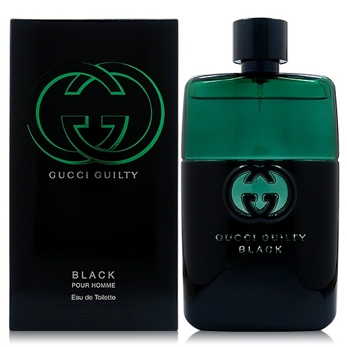 GUCCI Guilty Black 罪愛夜 - 男性淡香水90ml [QEM-girl]