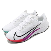 Nike 慢跑鞋 Air Zoom Pegasus 37 白 彩色 男鞋 飛馬 運動鞋 【ACS】 BQ9646-103