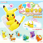 全套6款【日本正版】寶可夢 充電線 保護公仔 扭蛋 轉蛋 保護套 神奇寶貝 KITAN 奇譚 - 179862
