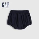 Gap嬰兒 布萊納系列 純棉短褲 700123-海軍藍