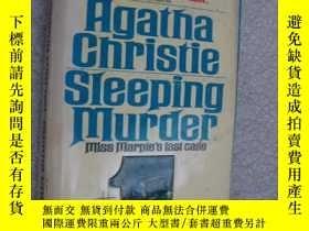 二手書博民逛書店Sleeping罕見Murder (by Agatha Chri