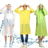 萬聖節快速出貨-風雨衣男女通用時尚透明帽檐雨衣雨披 成人背包雨衣長款 戶外徒步旅游