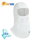 UV100 防曬 抗UV-涼感輕薄透氣頭套-快速穿脫