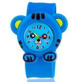 兒童卡通嬰兒拍拍手手錶幼兒男童男孩女童寶寶貓咪可愛玩具手錶WY【全館免運】
