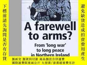 二手書博民逛書店A罕見Farewell To Arms?Y256260 不祥 Manchester University Pr