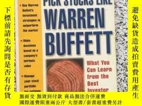 二手書博民逛書店pick罕見stocks like warren buffett