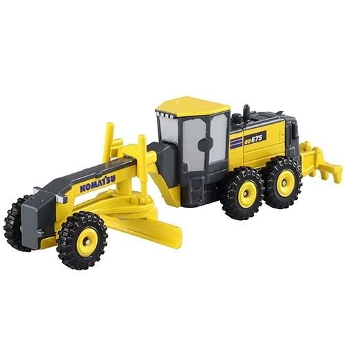 【 TOMICA 火柴盒小汽車 】NO.140 KOMATSU GD675-6 工程車  /   JOYBUS玩具百貨