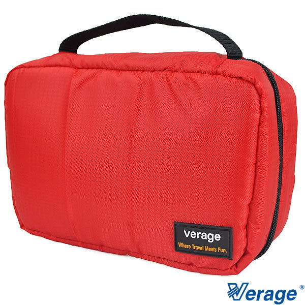 Verage 多層次收納梳妝包『紅』379-5027