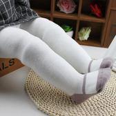 女童連褲襪寶寶嬰兒春秋冬季大PP加厚純棉公主白色兒童打底褲襪子
