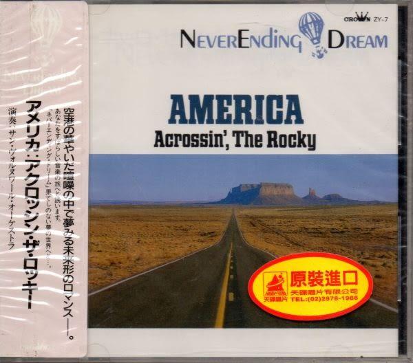 【停看聽音響唱片】【CD】AMERICA:Acrossin' The Rocky