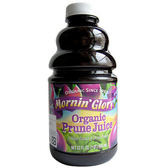 Mornin' Glory 晨光榮耀 有機純黑棗汁(32OZ) 【美麗購】