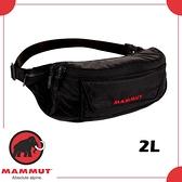【MAMMUT NEUVEVILLE BUMBAG 2L 腰包《黑》】2520-00141/旅遊防竊包/證件包/小背包/休閒臀包