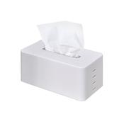 可調式升降面紙盒 白色