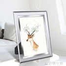 沖印洗照片水晶相框擺台76810寸七寸創意韓版玻璃相片加 名購居家