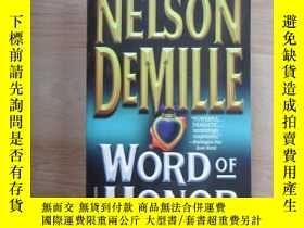 二手書博民逛書店英文書;罕見NELSON DEMILLE WORD OF HOO