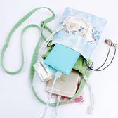 手機包女迷你小包包單肩斜背包可愛手拿零錢包束口手機袋 『米菲良品』