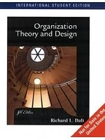 二手書博民逛書店《Organization Theory and Design
