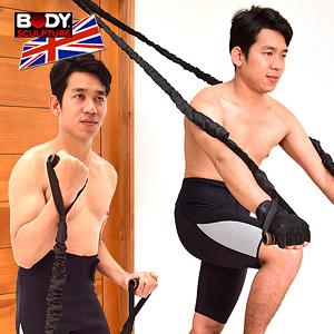 安全門扣拉繩.門上拉力器拉力繩訓練繩運動健身器材推薦哪裡買【BODY SCULPTURE】特賣會TRX-1