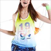 數位漸層罩衫TA596(商品圖不含內搭)-百貨專櫃品牌 TOUCH AERO 瑜珈服有氧服韻律服