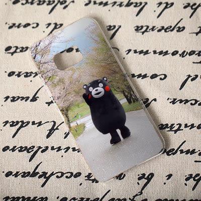 [機殼喵喵] Samsung Galaxy Note 7 5 4 3 2 1 手機殼 外殼 客製化 水印工藝 309 九州熊 熊本熊