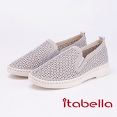 itabella.復古經典漆皮樂福鞋(9208-88灰色)