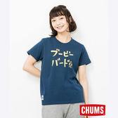 CHUMS 日本 女 Katakana 短袖T恤 深藍 CH111327N001