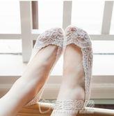 短襪子女春夏新款糖果色粗針棉襪低筒短筒女生船襪 5雙裝旅行31天   草莓妞妞