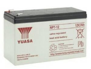 消防.受信總機專用鉛霜電池. YUASA12v7ah電池 電子用品電池 湯淺NP7-12 UPS電池