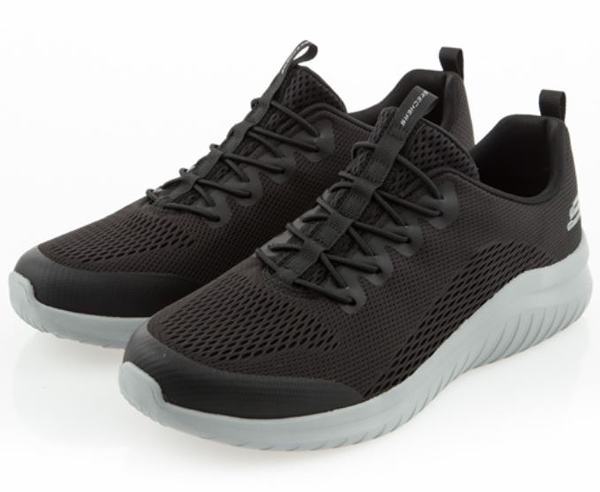 SKECHERS系列-ULTRA FLEX 2.0 男款黑色運動休閒鞋-NO.52767WBKGY