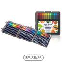 軟筆頭設計,可輕鬆畫出豐富的線條變化 可填色、可勾邊、可水洗,顏料使用更安心