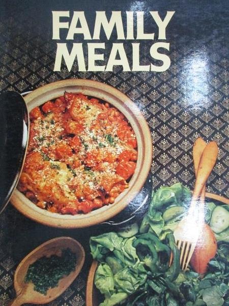 【書寶二手書T8/餐飲_ZHE】Family Meals