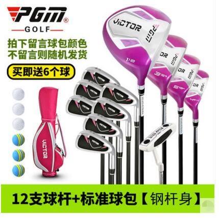 PGM高爾夫套杆練習杆 【鋼杆身】13支球杆+標准球包【藍星居家】