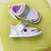 《7+1童鞋》小童 日本月星 MOONSTAR 透氣網布 機能鞋 運動鞋 學步鞋 E419 紫色