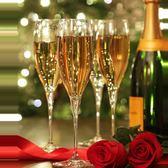 水晶香檳杯 高腳杯 婚慶婚禮氣泡酒杯