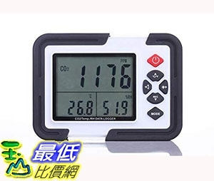 [7美國直購] 溫度計 Perfect-Prime CO2000 Indoor Quality Meter/Thermometer/Hygrometer USB CO2 Carbon